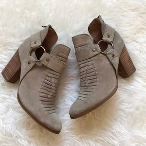 Seychelles Leather Boots Size 7